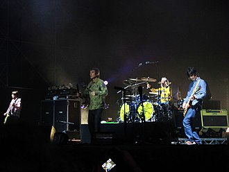The Stone Roses - The Stone Roses in concert in Milan in 2012.