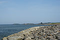Stone breakwater S of Saco River Maine.jpg