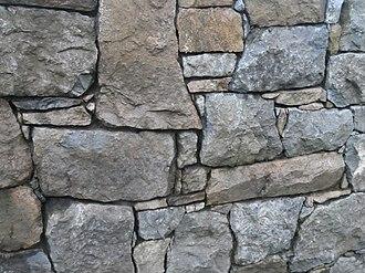 Stone wall - Stone wall, Ireland.