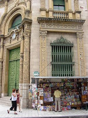 Newspaper - Newspaper stand in Salta (Argentina).