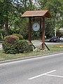 Street clock (1954-2004), Rákóczi street, 2018 Oroszlány.jpg