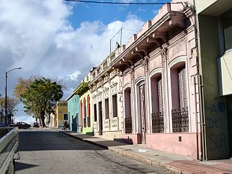 Barrio Sur, Montevideo - Street in Barrio Sur