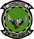 Strike Fighter Squadron 195 (US Navy) insignia, 2016.png