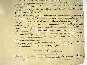 Lluís Companys - Death sentence of Lluís Companys