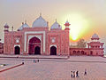 Sunset over the Mosque (5850313906).jpg
