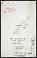 Survey of Telegraph Line from Frere Town-Mombassa to Malindi. East Africa. (WOMAT-AFR-BEA-209-1-1).jpg