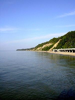 Svetlogorsk, Kaliningrad Oblast - Svetlogorsk beach in June