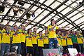Sweden national under-21 football team celebrates in Kungsträdgården 2015-16.jpg