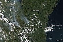 Schweden Waldbrände Karte.Waldbrände In Schweden 2018 Wikipedia