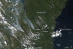 Karta Over Skogsbrander I Sverige.Skogsbranderna I Sverige 2018 Wikipedia