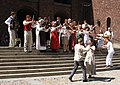 Swedish folk music with dancing.jpg