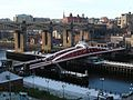 Swing Bridge, River Tyne, 30 November 2008.jpg