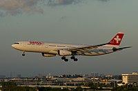 HB-JHD - A333 - Swiss