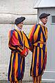 Swiss guards in the Vatican City, 2010.jpg