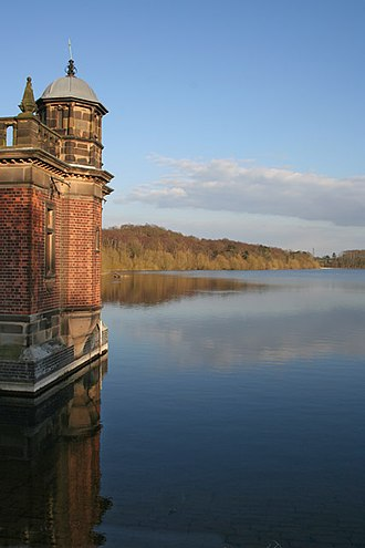 Swithland Reservoir - Image: Swithland Reservoir geograph.org.uk 150083