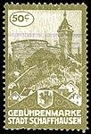 Switzerland Schaffhausen City 1913 revenue 1 5aA.jpg