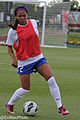 Sydney Leroux 2013-05-11 Spirit - Breakers-5 (8964573797).jpg