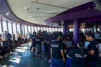 Sydney Tower - The observation deck