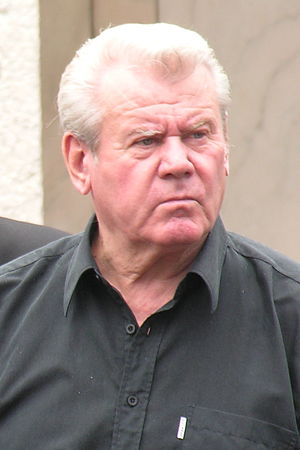 Lajos Szűcs (footballer, born 1943) - Image: Szűcs Lajos 2011