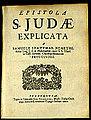 Szathmárnémeti - Epistola S Judae - 1700 - Universiteitsbibliotheek VU XI.00446.JPG