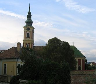 Eastern Orthodoxy in Hungary - Image: Szentendre Belgrade Church