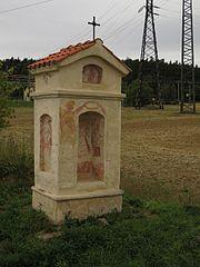 Výklenková kaplička Panny Marie Pasovské