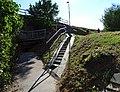 Třebíč-Stařečka, schody k borovinskému železničnímu mostu.jpg