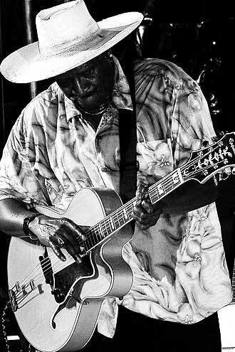 Taj Mahal (musician) - Taj Mahal at the Liri Blues Festival, Italy, in 2005