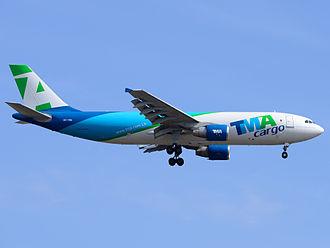 TMA Cargo - TMA Cargo A300-600RF OD-TMA at Schiphol