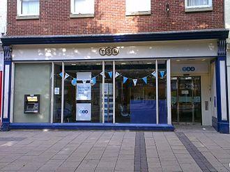 Cheltenham & Gloucester - After rebranding