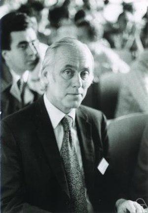 Theodore Wilbur Anderson - T. W. Anderson in 1974