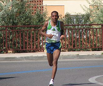 2010 IAAF World Half Marathon Championships - Zersenay Tadese (pictured in Cáceres in 2007) attempted to extend his winning streak at the championships