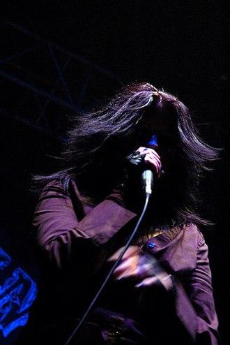 My Ruin - Singer Tairrie B performing in 2008