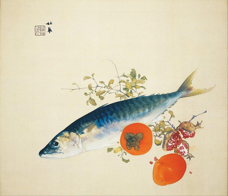 Takeuchi Seiho - Autumn Fattens Fish and Ripens Wild Fruits - Google Art Project