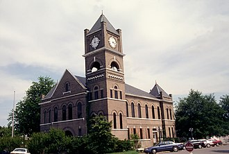 Sumner, Mississippi - Tallahatchie County Courthouse in Sumner