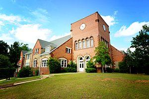 Lyman Ward Military Academy - Image: Tallapoosa Hall at Lyman Ward Military Academy
