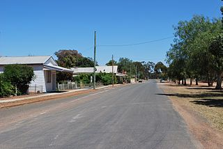 Tallimba Town in New South Wales, Australia