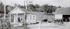 Rabun County, Georgia - Tallulah Ranger Station near Clayton in 1935