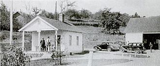 Rabun County, Georgia - Tallulah Ranger Station near Clayton in 1935