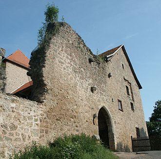 Nentershausen, Hesse - Tannenberg Castle