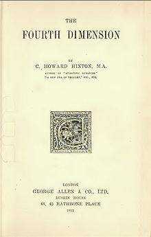 La cuarta dimensión - Wikipedia, la enciclopedia libre