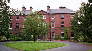 Tapton House country house in Derbyshire