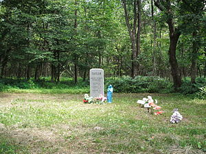 Shenandoah National Park - cemetery near Hawksbill Mountain
