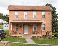 Taylorstown Historic District (Taylorstown, Pennsylvania) 15 Main St.jpg