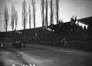 Pau Grand Prix - Nuvolari wins 1935 Pau Grand Prix