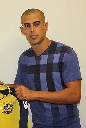 Tal Ben Haim (footballer, born 1989) - Ben Haim signing for Maccabi Tel Aviv in 2013