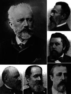 Pyotr Ilyich Tchaikovsky and The Five