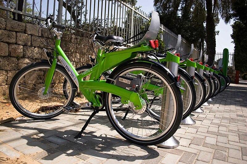 Mobilità sostenibile - Photo credit: Assafk88