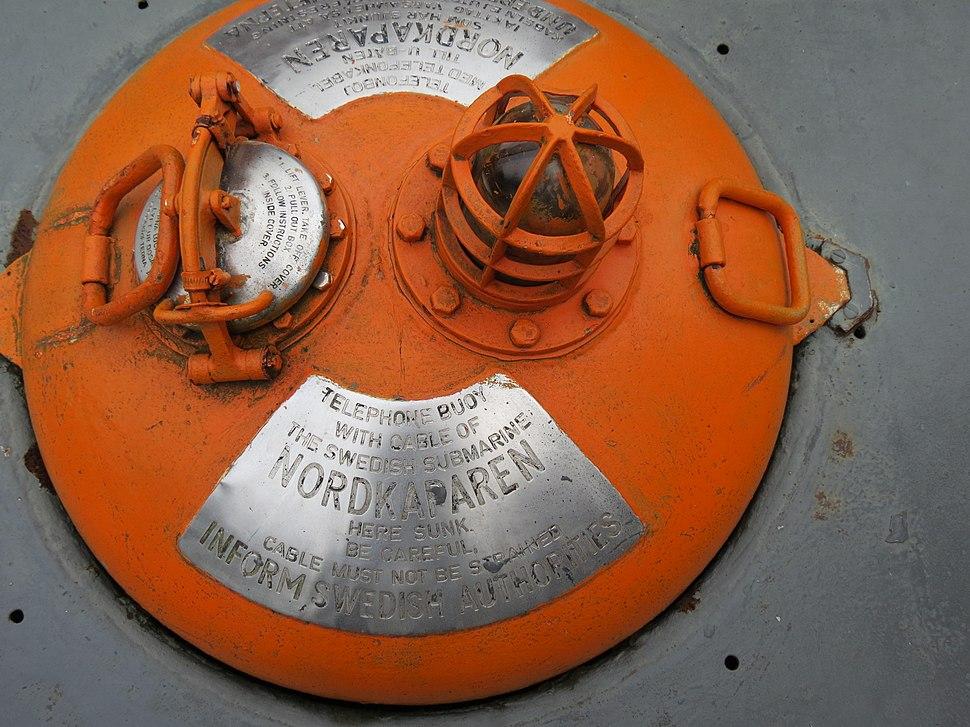 Telephone buoy of HMS Nordkaparen (Nor)