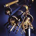 Telescopio rifrattore equatoriale - Museo scienza tecnologia Milano D1002.jpg